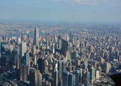 1500 feet over New York